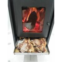 Forma Para Assador Estela Maris em Calefator Aço Inox Escovado