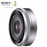 Lente Sony Intercambiável E-Mount SEL16F28 Para Câmeras Nex