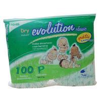 Fralda Dry Evolution Classic 100 Unid Tam P