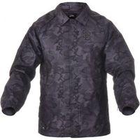 11561f1b3037f Jaqueta Nike SB Camo Coach´s Jacket Masculino Preto