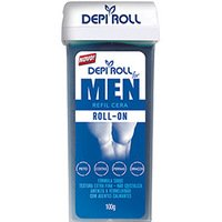Refil de Cera Corporal Depi Roll For Men 100g