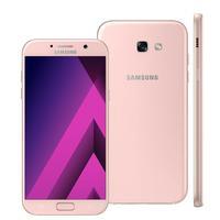 Smartphone Samsung Galaxy A7 2017 SM-A720F/DS Desbloqueado GSM Dual Chip 32GB Android 6.0 Rosa
