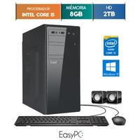 Computador Desktop Easypc 5672 Core I5 3.2GHz 8GB 2TB Windows 10
