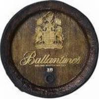 Barril De Parede Fibra Kg - Decoração - Ballantines Whisky