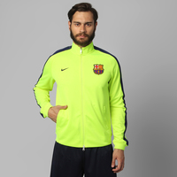 85acf0845a Jaqueta Nike Barcelona N98 Authentic Trk FA1 Masculina Amarela