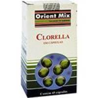 Clorella - 45 Cápsulas - Orient Mix
