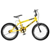 Bicicleta Colli Bike Extreme Cross Free Ride Aro 20 Freio V-brake Amarela