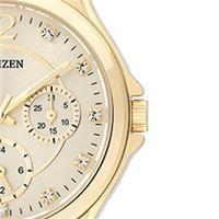 Relógio de Pulso Citizen TZ28360G Feminino Analógico Dourado