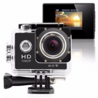 Camera Aprova D''agua Action Cam Sport Cam Full HD 1080P Wi-Fi