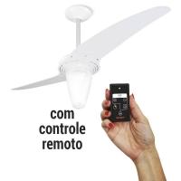 Ventilador De Teto Spirit 201 Branco Cônico com Remoto 220V