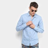 Camisa Colcci Slim Manga Longa Masculina - Masculino  f2aa4a9fa97