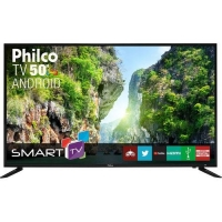 Smart TV LED 50 Philco PTV50D60SA Full HD Wi-Fi Conversor Digital Integrado