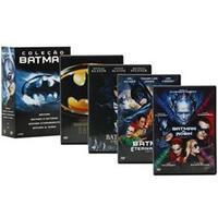 Box Coleção Batman 4 Discos - Multi-Região / Reg. 4