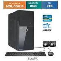 Computador EasyPC Intel Core i5 8GB HD 2TB