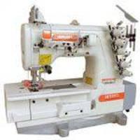 Máquina de costura Galoneira Industrial,base plana,fechada,3 agulhas,6000RPM - Siruba