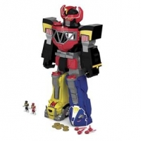 Power Rangers e Megazord Imaginext CHJ18 Mattel