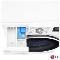 Lavadora e Secadora LG Vivace VC3 com TurboWash CV7011WS4 11Kg Branca