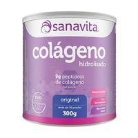 Suplemento Sanavita Colágeno Original 300g