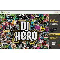 DJ Hero Bundle Turntable Kit Xbox 360 Microsoft