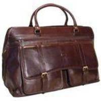 Bolsa Sacola De Viagem Em Couro Bennesh 9501