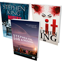 Kit Livros Especial Stephen King 3 Volumes