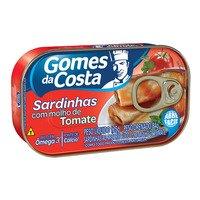 Sardinha com Molho de Tomate Gomes da Costa 125g