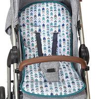 Capa para Carrinho de Bebê Dinossauro-Batistela Baby - Verde