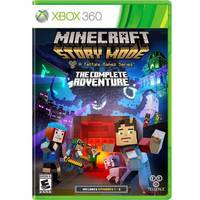 Minecraft Story Mode The Complete Adventure Xbox 360 Microsoft