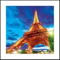 Quadro com Efeito 3D Torre Eiffel Universal Mix 60x60cm