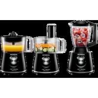 Multi Processador Mondial Full Kitchen Premium NMP08 Preto e Inox