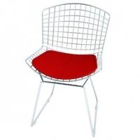 Cadeira Elare Bertoia CM0005 Cromada Vermelho