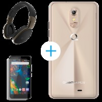 Smartphone Quantum MÜV Pro Dual Chip 16GB Android 6.0 Mirage Gold + Fone Bluetooth + Pelicula