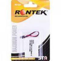 Bateria Recarregável Para Telefone Sem Fio 300mah 3,6v Rontek