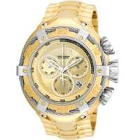 Relógio Masculino Invicta 21345 Prova D Água Banhado A Ouro 18k
