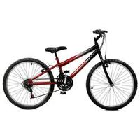 Bicicleta 24 Ciclone Plus 21 Marchas Aro 24 Vermelho/Preto Master Bike