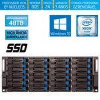 Servidor-storage Silix X1200h24 V6 Intel Xeon 3.5 Ghz / 8gb / Ssd / 48tb Vigilância / Raid / Win 10