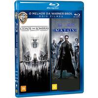 Dose Dupla Blu-Ray Cidade das Sombras + Matrix - Multi-Região / Reg.4