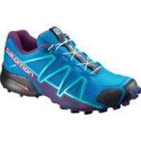 Tênis Salomon Feminino Speedcross 4 Azul Claro/Roxo 36