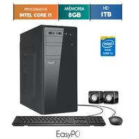 Computador Desktop Easypc 5571 Core I3 3.3GHz 8GB 1TB Windows 10