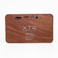Caixa De Som Xtrax X500 Madeira