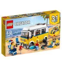 Lego Creator 3 Em 1 Sunshine Sufer Van 31079