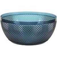 Bowl Grande em Acrílico 3800ml  Capri Azul Escuro - La Cuisine