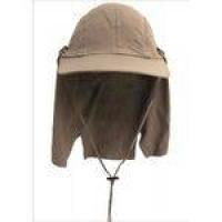 Boné Legionário Cairo - Proteção Solar Uv - Sun Cover - Camelo