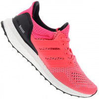 25b17d0b4f Tênis Adidas Ultra Boost Feminino Rosa Escuro e Preto