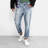 Calça Jeans Reta Ellus Geek Rasgos Stone Masculina - Masculino