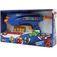 Lançador de Foguetes Toyng Avengers Marvel Vingadores Azul