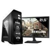 Pc Gamer Intel Core i5 7400 Geforce Gtx 1060 Monitor Samsung 21.5 S22E310 8GB DDR4 1TB EasyPC