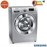 Lavadora & Secadora de Roupa Samsung Eco Bubble WD4000 WD11M44530S 11Kg Prata