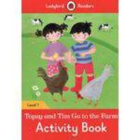Topsy And Tim - Go To The Farm - Ladybird Readers - Level 1 - Activity Book - Ladybird