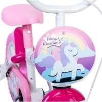 Bicicleta Infantil Rainbow Magic Aro 12 Rosa